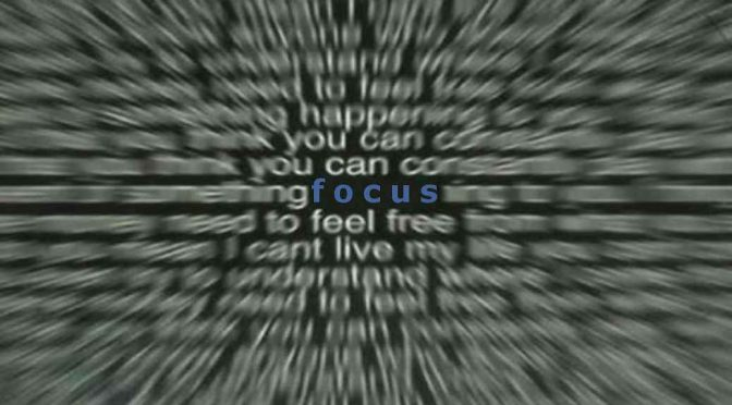 How Narrow Is Your Focus?